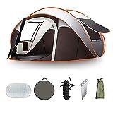 THZCMY Camping Automatische Pop Up Zelt 5-8 Person Tragbare Falten Outdoor Schnellöffnende Strand Zelte 100% wasserdicht Anti UV für Einfach einzurichten Größe (280 * 200 * 120 cm)