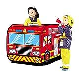 deAO Pop Up Spielzelt für Jungen und Mädchen Outdoor-Aktivitäten für Kinder- und Kinderpartys (rot)