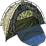DGZJ Rahmen Zelte Single Sommer Reise-Camping-Zelt Tarnung Outdoor-Camping-Zelt Ultraleicht-Zelt Regenfest Ideal für Camping Wandern Außen (Color : Camouflage, Size : 1 Person)