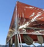QUICK STAR Pavillon Schutzhaube 3x3m Wasserdicht Transparent