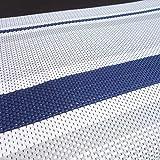 Schlauchland Zeltteppich ´´´odooro DURATEX 3,0m x 6m Stripe *** 500 g/m² Outdoor Teppich Vorzelt Teppich Garten Spieldecke