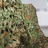 Hands DIY Tarnnetz Camouflage Netz, Multi-Größe, Jagd Sonnenschutz Tarnung Netz Woodland Armee Tarnung Net Freizeit Camping Outdoor Tarnnetz Langlebig, Hohe Qualität (4x2M, Camo Green)