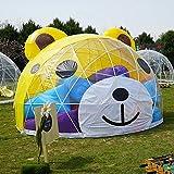 Cartoon-Dome-Zelt/Die Kugel/Cartoon-Dome/Party Indoor Zelt/Eco-Iglu/geodätische transparente Kugel-Zelt für Outdoor-Familie